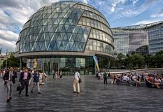 South Bank Cityscape, London Stock Photos