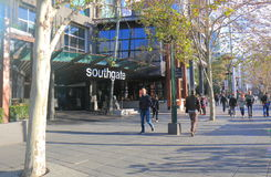 South bank cityscape Melbourne Australia Royalty Free Stock Images