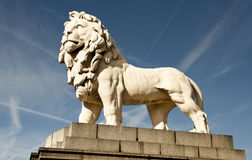 The South Bank Lion royalty free stock photos