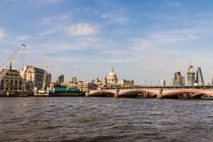 South bank london riverside stock photos