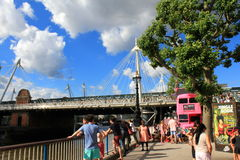South Bank London United Kingdom Royalty Free Stock Images