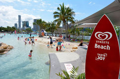 South Bank Parklands - Brisbane Australia Stock Photos