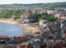South bay beach Scarborough Royalty Free Stock Image