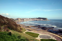 South bay, Scarborough. Royalty Free Stock Images