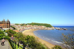South Bay, Scarborough, Yorkshire. Stock Image