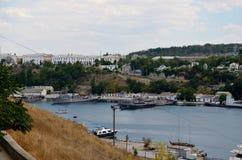 South Bay in Sevastopol Stock Image