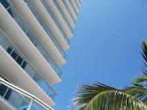 South Beach. A building on South beach in Miami stock photos