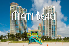 South Beach Royalty Free Stock Photography