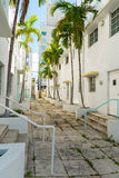South Beach Alley Stock Images