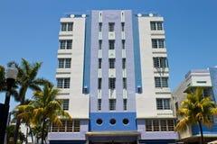 South Beach art deco building in Miami, Florida Stock Photos