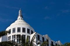 South Beach art deco building in Miami, Florida Royalty Free Stock Photos