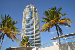 South Beach Hi-Rise Royalty Free Stock Photo