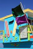 South Beach Lifeguard Stand Stock Image