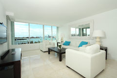 South beach living room Royalty Free Stock Photography