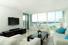 South beach living room Royalty Free Stock Photos
