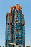 South Beach luxury condominium building in Miami, Florida Stock Images