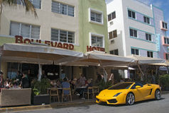 South Beach, Miami Stock Images