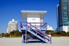 South Beach Miami Stock Images