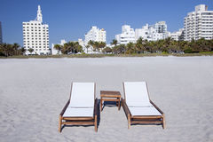 South Beach Miami  Royalty Free Stock Image