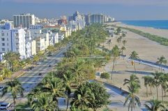 South beach, Miami Beach, Florida Stock Photos