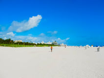 South Beach, Miami Beach. Florida. stock photos