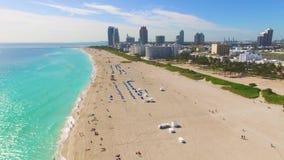 South Beach, Miami Beach. Florida. stock video