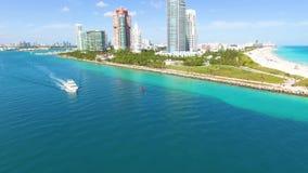 South Beach, Miami Beach. Florida. stock video footage