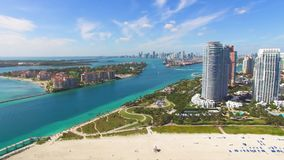 South Beach, Miami Beach. Florida. stock footage