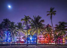 South Beach Miami Stock Photos