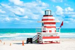 South Beach in Miami, Florida Royalty Free Stock Photo