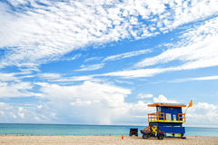 South Beach in Miami, Florida Royalty Free Stock Photography