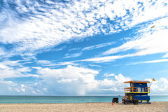 South Beach in Miami, Florida Stock Photo