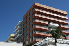 South Beach Miami Hotel Stock Photography