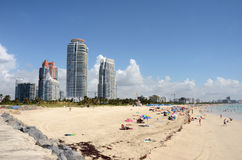 South Beach, Miami Royalty Free Stock Photo