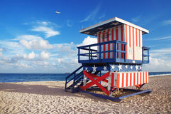 South Beach of Miami. United States Stock Image
