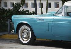 South Beach Vintage Car Stock Photography