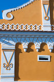 South Bohemian traditional architecture Royalty Free Stock Image