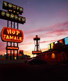 South of The Border Neon Signs Royalty Free Stock Photo