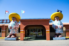 South of the Border, Reptile Pavilion, South Carolina. Stock Images