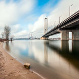 South bridge in Kiev Stock Photos