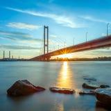 South bridge in Kiev Stock Images