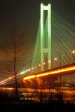 South Bridge at Night, Kiev, UA Stock Photos