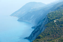 South cape of Lefkas island (Greece) Royalty Free Stock Photos