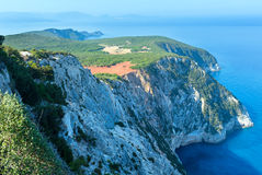 South cape of Lefkas island (Greece). South cape of Lefkas island (Greece, Ionian Sea Royalty Free Stock Photography