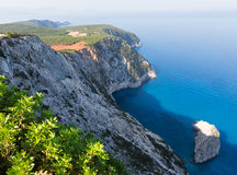 South cape of Lefkas island (Greece) Royalty Free Stock Photography