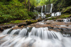 South Carolina Jocassee Gorges Waterfall Royalty Free Stock Photography