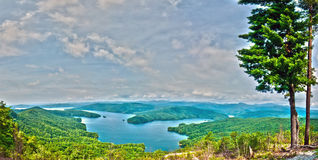 South Carolina Lake Jocassee Gorges Upstate Mountain Royalty Free Stock Image