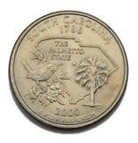 South Carolina quarter dollar. South Carolina United States collection quarter dollar Stock Photos