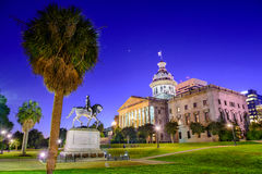 South Carolina State House. Columbia, South Carolina, USA at the State House stock photography