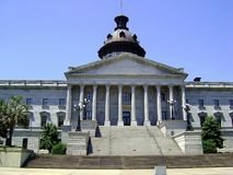 South Carolina Statehouse. In Columbia royalty free stock photo